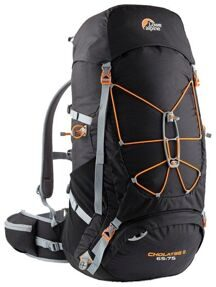 Рюкзак Lowe Alpine CHOLATSE II 65-75 XL Black/Pumpkin
